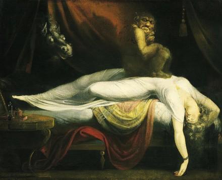 Le cauchemar par Henry Fuseli (1781)