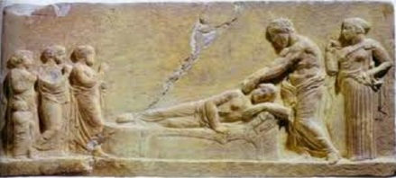 Asclepius qui guérit