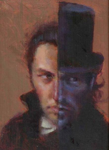 Dr Jekyll et Mr Hyde_painting