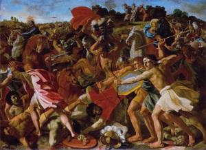 Julius Schnorr von Carolsfeld_battle of Jericho