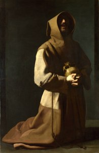 Full title: Saint Francis in Meditation Artist: Francisco de Zurbaran Date made: 1635-9 Source: http://www.nationalgalleryimages.co.uk/ Contact: picture.library@nationalgallery.co.uk Copyright © The National Gallery, London