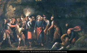 Hans III Jordaens_Christ in the garden of Gethsemane