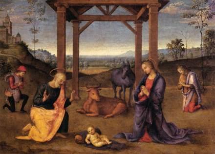 La nativité_Perugino