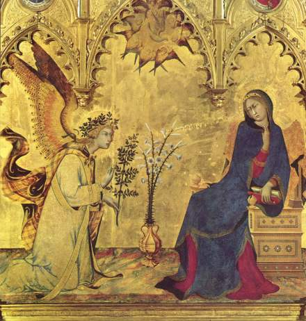 Simone_Martini_l'Annonciation à Marie