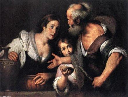 Huile de la veuve - Bernardo Strozzi