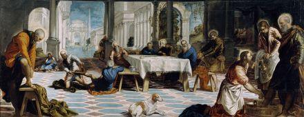 Le nettoyage des pieds (Tintoretto)