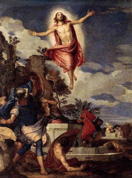 The Resurrection of Christ by Paolo Veronese, 1570