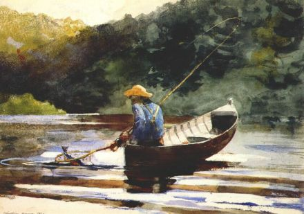 boy-fishing-Winslow Homer