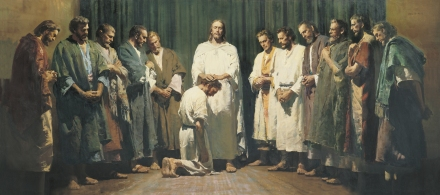 christ-ordaining-the-apostles_Harry Anderson