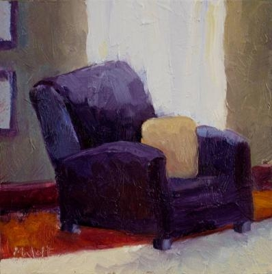 oil_painting_original_reading_chair_interior_Heidi Malott