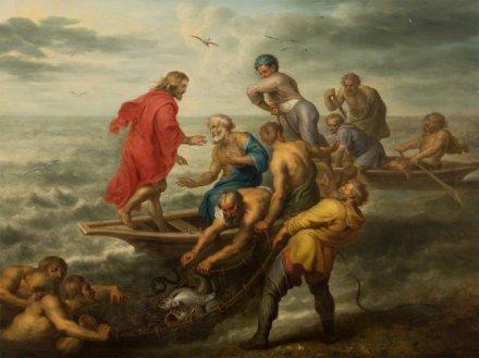 Pêche miraculeuse - Balthasar Beschey - 17