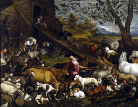 The_Animals_Entering_Noah's_Ark_1570s_Jacopo_Bassano