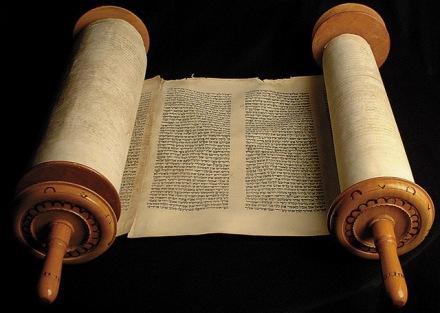 Bible scrolls