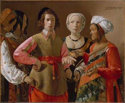 La diseuse de bonne aventure-Georges de la Tout- 1630