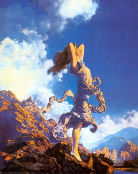 Ecstasy de Maxfield Parrish - 1926
