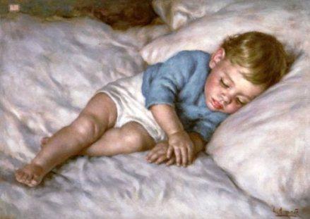 Enfant qui dort - Luigi Amato
