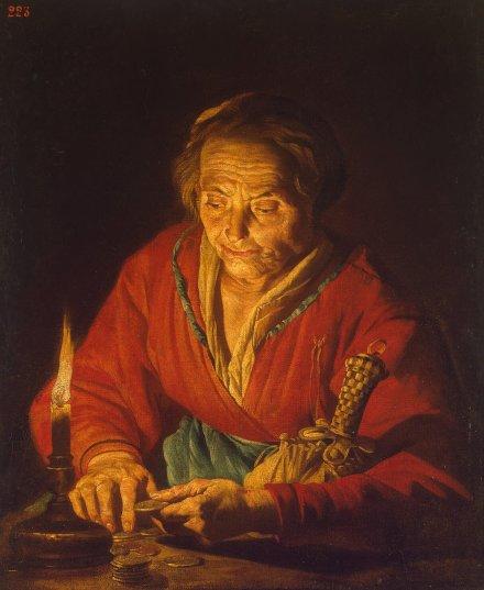 Stomer_Matthias-ZZZ-Vieille femme à la bougie
