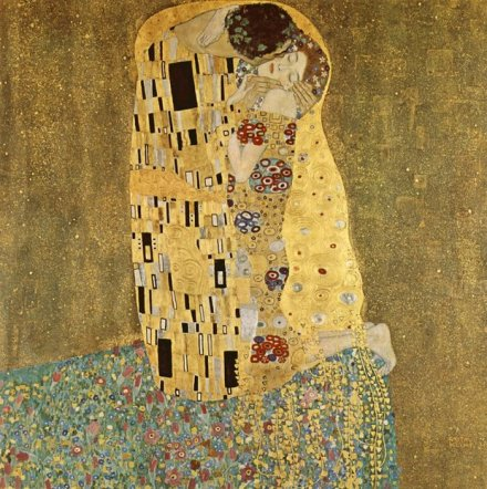 The Kiss _ Gustave Klimt _ 1908