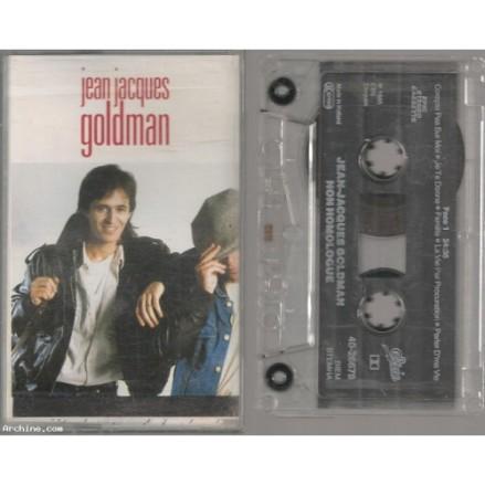 Cassette _Goldman_Non homologué