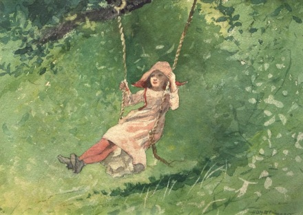 WLA_hmaa_Winslow_Homer_Girl_on_a_Swing