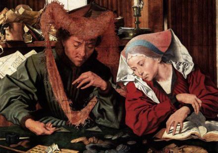Marinus-van-Reymerswaele-Le-changeur-et-sa-femme-1540