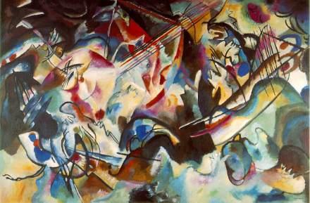 Vassily Kandinsky - Composition 6 (1913)