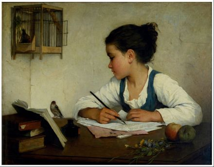 764px-browne_henriette_-_a_girl_writing_the_pet_goldfinch_-_google_art_project